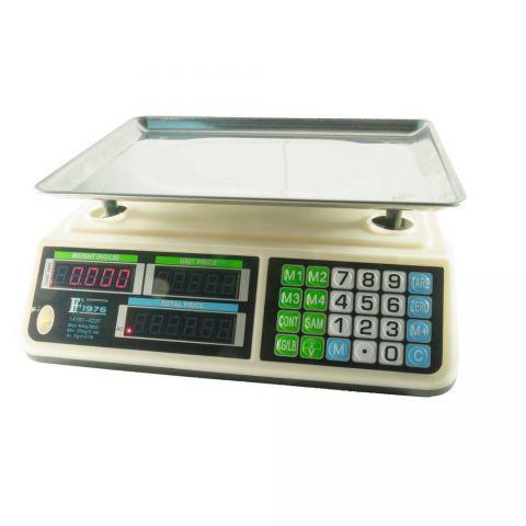 Ηλεκτρονική Ζυγαριά Μαναβικής 0.2-40Kg(14191-423F)