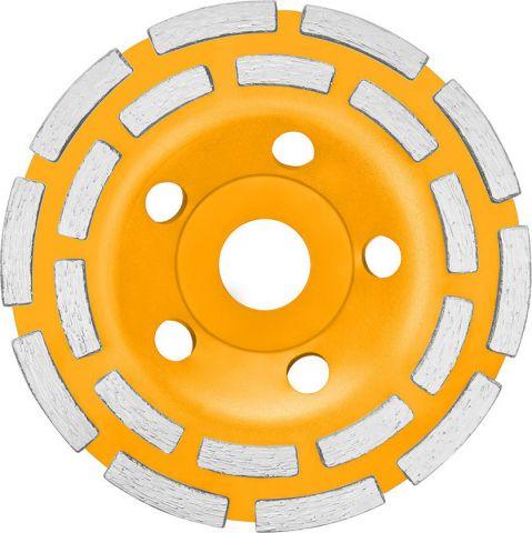 Δίσκος Μεταλλικός Λείανσης Μπετού 125mm INGCO(CGW02151)
