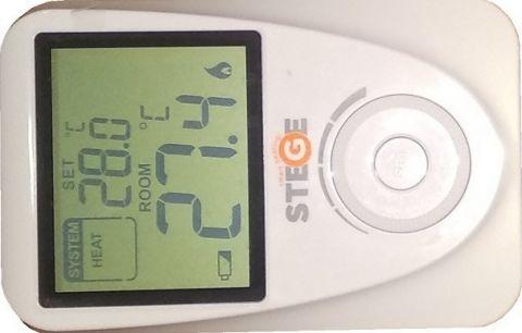 Θερμοστάτης Χώρου Ψηφιακός Κάθετος STEGE(SG100VER)