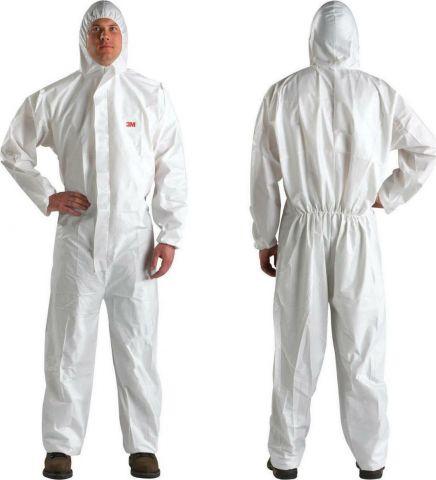 Άσπρη Φόρμα Προστασίας Μίας Χρήσης 5/6 4510 3M(35968)