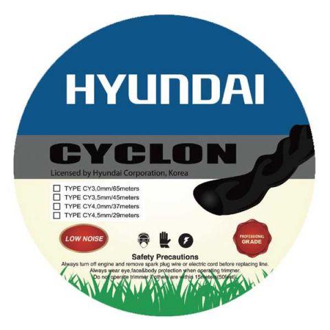 Μεσινέζα Στριφτή Hyundai Επαγγελματική 3,50mm*45m Cyclon Αθόρυβη(81F31)