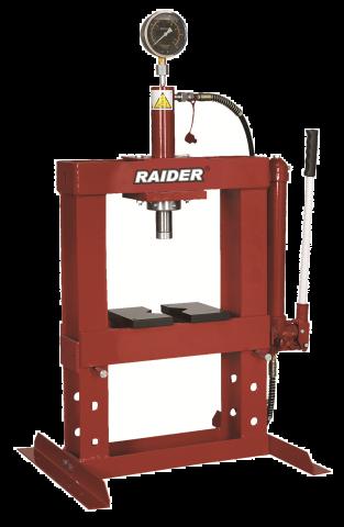 Υδραυλική Πρέσσα Πάγκου Με Αντλία Χειρός 10 Τόνων RAIDER(RD-HP02)