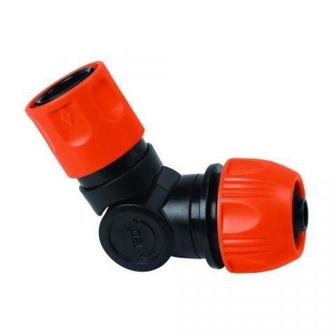 Γωνιακός Συνδετήρας Για Λάστιχο Ποτίσματος AQUABAX(B-23707)