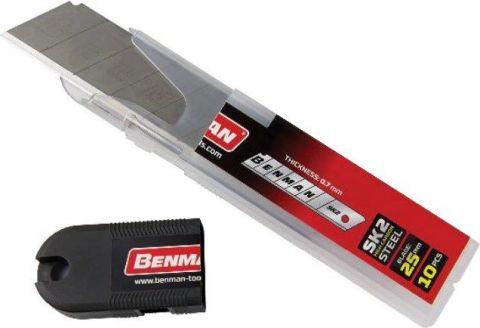 Λάμες Για Κόφτες Μοκέτας 25mm BENMAN(71080)