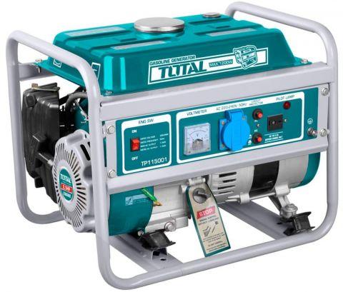 Ηλεκτρογεννήτρια Βενζίνης 1000Watt TOTAL(TP115001)