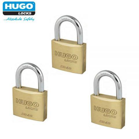Σετ Λουκέτα Ανοίγματος Με Ένα Κλειδί 20mm HUGO(60282)
