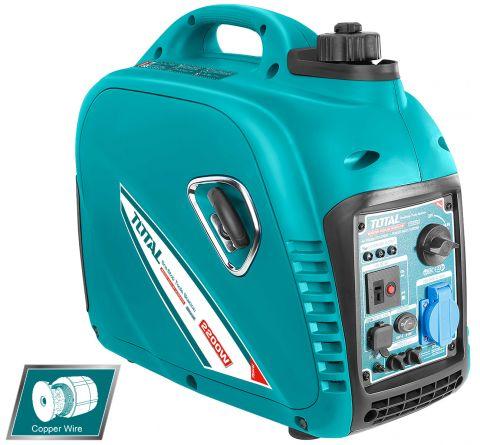Ηλεκτρογεννήτρια Βενζίνης INVERTER 2,2Watt TOTAL(TP530001)