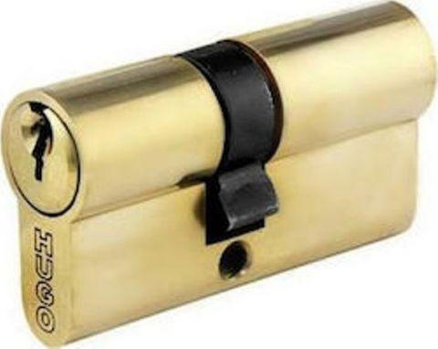Κύλινδρος Χρυσός 90mm Με 3 Κλειδιά HUGO(60010)