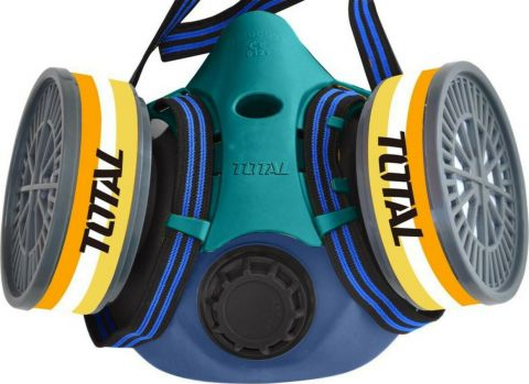 Μάσκα Προστασίας Μισού Προσώπου Με Δύο Φίλτρα TOTAL(THRS02)