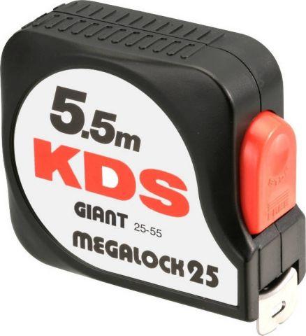 Μετροταινία Megalock 25mm*5,5m KDS(08-19-06-004)