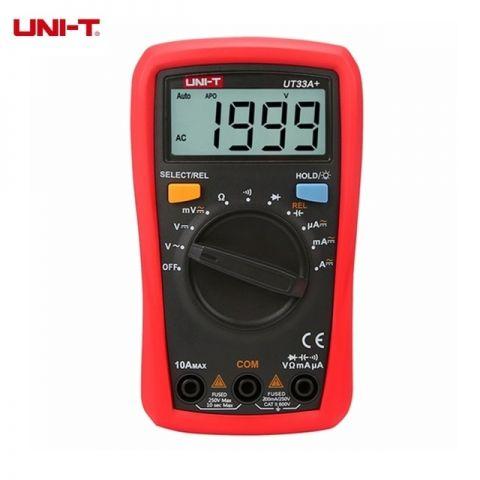 Ψηφιακό Πολύμετρο UNI-T(UT33D+)