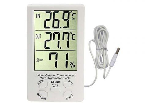 Ψηφιακό Θερμόμετρο Εσωτερικού Εξωτερικού Χώρου OEM(TA298)