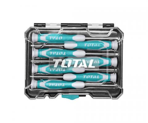 Σετ Κατσαβίδια Ηλεκτρονικών 7 Τεμαχίων TOTAL(THT250726)