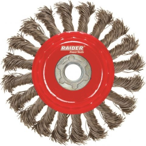 Συρματόβουρτσα  100mm Κοτσίδα Με Πάσο Μ14 RAIDER(171122)