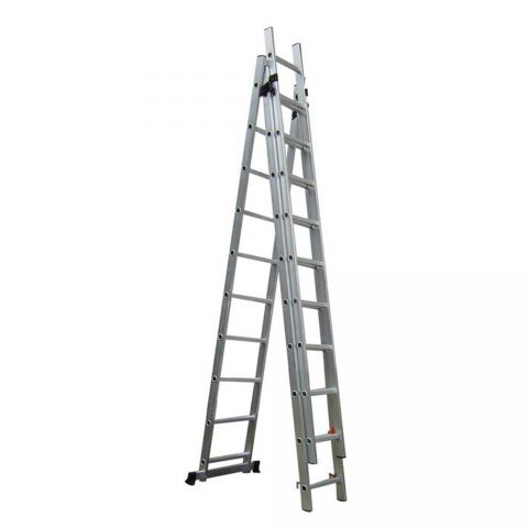 Τριπλή Σκάλα 3*11 9,60m Αλουμινίου(311960)