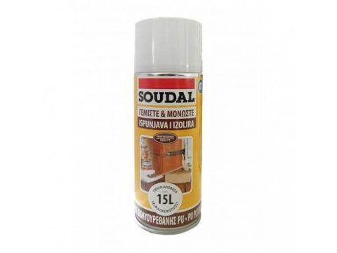 Αφρός Πολυουρεθάνης Χειρός Ενός Συστατικού 300ml SOUDAL(20145)