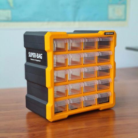 Πλαστικό Orginizer 20 Θέσεων SUPER-BAG(ASR6006)