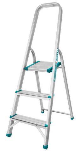 Σκάλα Αλουμινίου Με 3 Σκαλοπάτια TOTAL(THLAD06031)