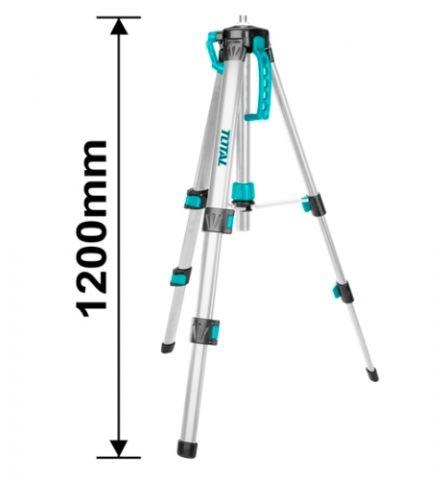 Τρίποδας Αλουμινίου 1,20m Με Σπείρωμα 5/8΄΄ & 1/4΄΄ TOTAL(TLLT01152)