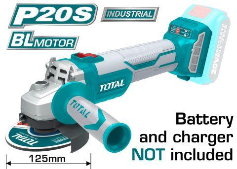 Τροχός Μπαταρίας 20Volt TOTAL(TAGLI1252)
