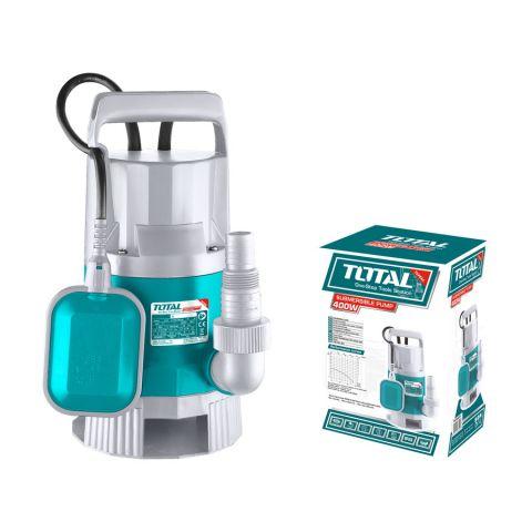 Υποβρύχια Αντλία Ακάθαρτων Υδάτων 400Watt TOTAL(TWP84001)