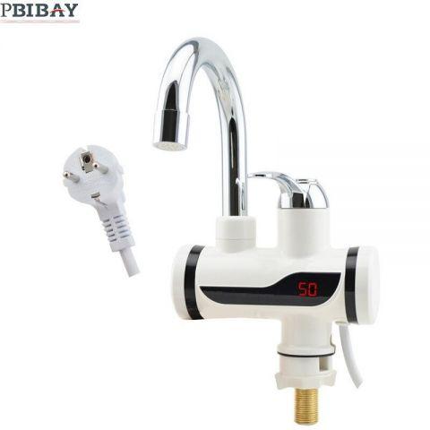 Βρύση Ρεύματος Για Άμεσα Ζεστό Νερό Με Οθόνη(20016-47)